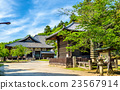 Hokke-do hall of Todai-ji temple in Nara 23567914