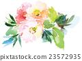 Flowers watercolor illustration 23572935