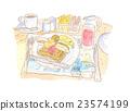 水彩畫 插圖 餐 23574199
