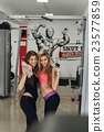 Two beautiful girl at the gym 23577859