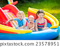 pool, kids, girl 23578951