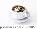 Sichuan sour soup serve in white bowl 23580853