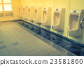 Interior of man public toilet 23581860