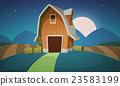 向量 向量圖 農場 23583199