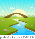 Landscape With Stone Bridge 23583332