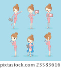 business woman use tablet pc 23583616