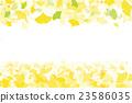 秋叶银杏树biloba图象例证 23586035