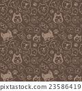 dog, dogs, pattern 23586419
