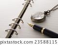 鋼筆和筆記本 23588115