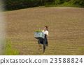 農業女孩畫像 23588824