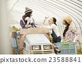 農業女孩工作風景 23588841