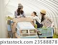 農業女孩工作風景 23588878