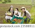 农业女孩画像 23588911