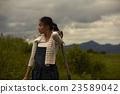 農業女孩畫像 23589042