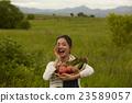 肖像 蔬菜 農事 23589057