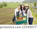 農業女孩畫像 23589077