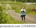 農業女孩畫像 23589090