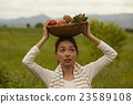 农业女孩画像 23589108