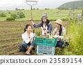 农业女孩画像 23589154