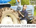 女性 拖拉機 平板電腦 23589186
