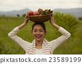 农业女孩画像 23589199