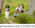 农业女孩工作风景 23589236