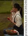番茄 西紅柿 品嚐 23589266