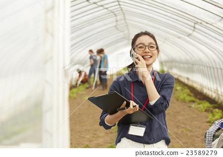 智能農業形象 23589279