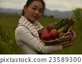 农业女孩画像 23589300