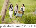 農業女孩工作風景 23589318