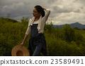 農業女孩畫像 23589491