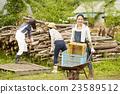 農業女孩工作風景 23589512
