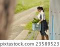 農業女孩畫像 23589523