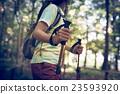 登山 爬山 徒步旅行 23593920