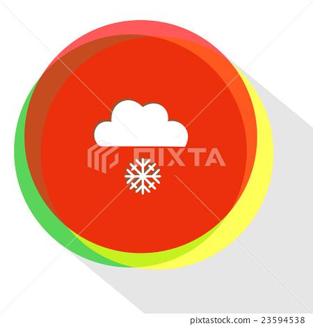 snowfall. 23594538