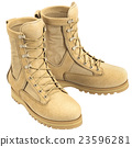 Military soldier boots 23596281