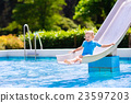 pool, kids, child 23597203