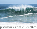 newport beach, wave, the sea 23597875