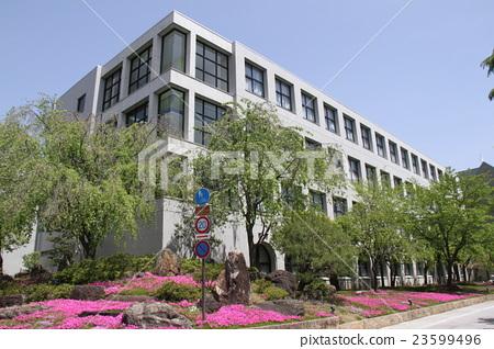 Rakusei Junior and Senior High School in Kita-ku, Kyoto 23599496