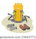 手套 户外装备 背包 23603773