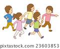 矢量 小孩 兒童 23603853