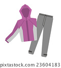 rainwear, outdoor equipment, vector 23604183