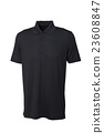 Golf tee shirt black color for man or woman 23608847