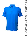 Golf tee shirt blue color for man or woman 23608848