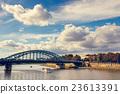 river, krakow, bridge 23613391