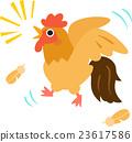 雞 嗥叫 嚎叫 23617586