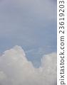 雷雲 積雨雲 夏天 23619203