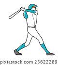 棒球 击球手 男人们 23622289