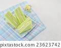 green chiffon cake 23623742