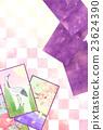 日本纸牌 新年贺卡材料 鹤 23624390